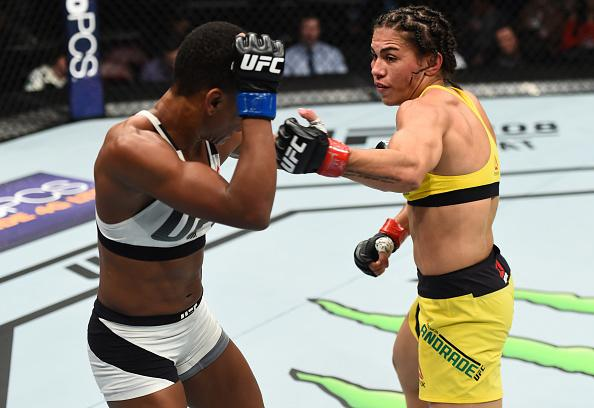 Jessica Andrade locks up title fight with win over Angela Hill