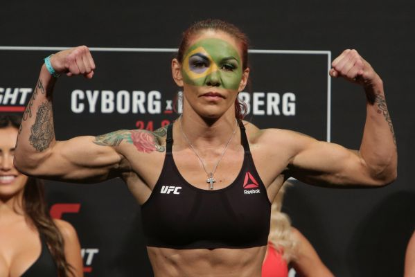 With her USADA case looking good, Cyborg has her eyes on the title