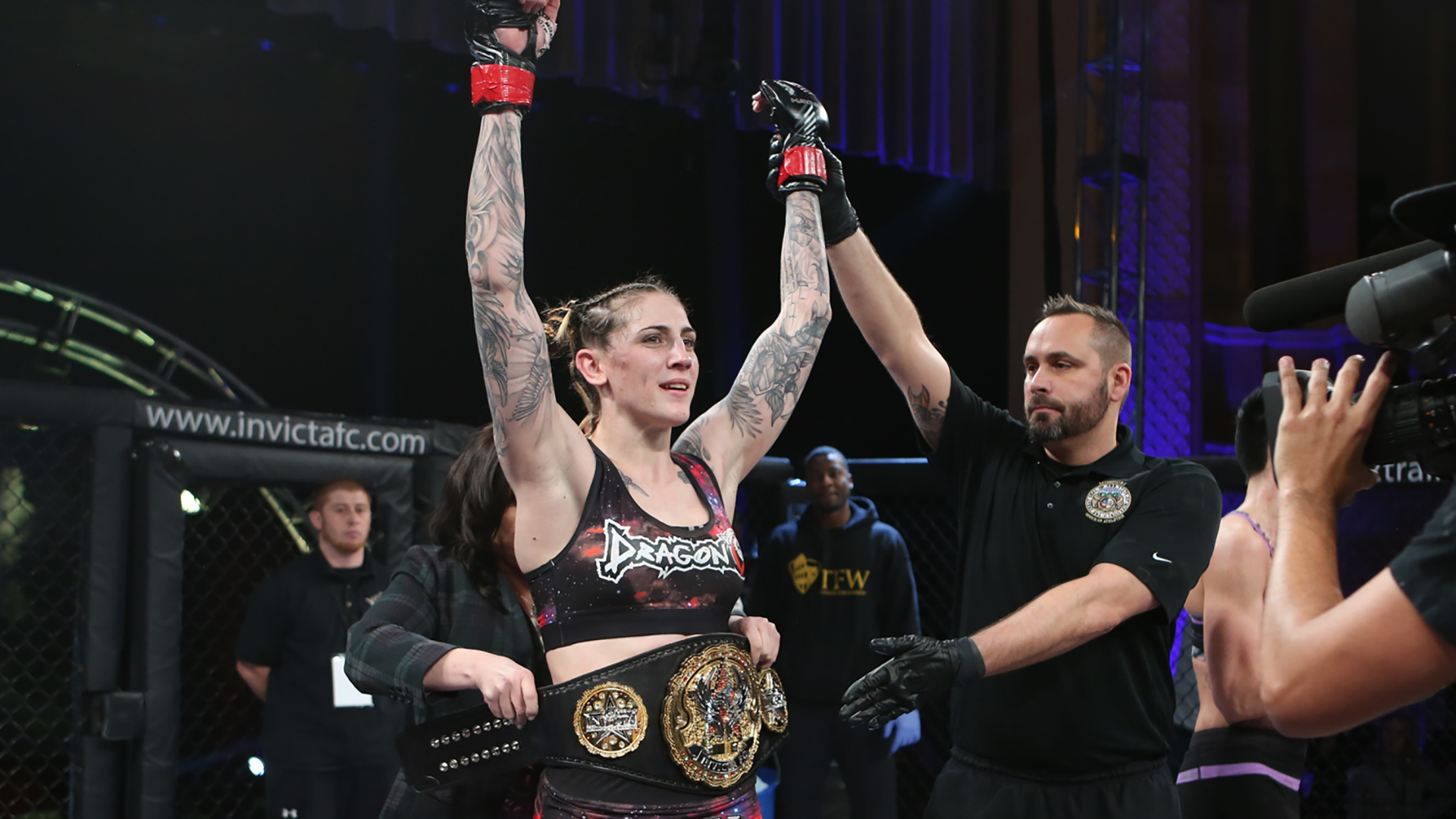 Megan Anderson responds to Cyborg's challenge