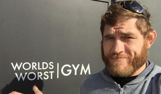 Tom Lawlor got suspended by USADA. Today, he received this email.