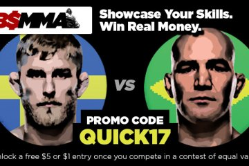 Check Out BigShot Fantasy MMA And Make Some Picks For Gustafsson vs Teixeira!