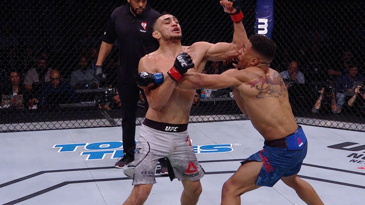 Relive highlights from UFC 216 in stunning 'Fight Motion' video