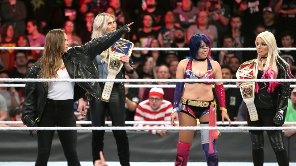 The best part of Ronda at Royal Rumble had nothing to do with WWE
