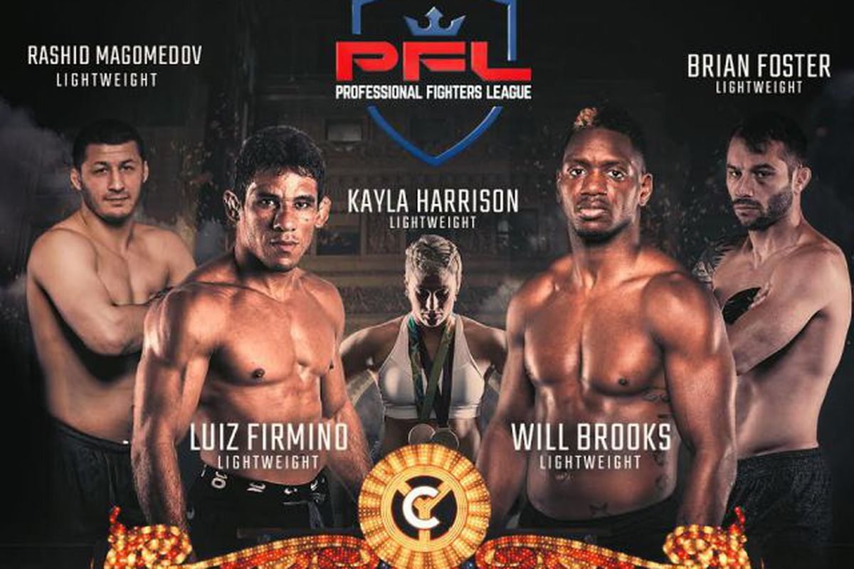 PFL 2 Event Results: Luiz Firmino vs. Will Brooks