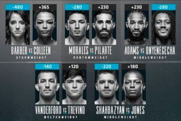 DWCS 5 Event Results