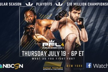 PFL 4 Event Results