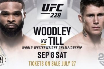 UFC 228 Event Results