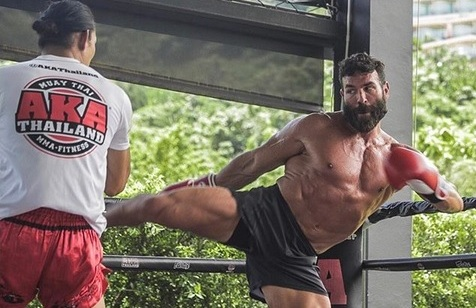 Forever living the dream, Dan Bilzerian joins Mike Swick at AKA Thailand