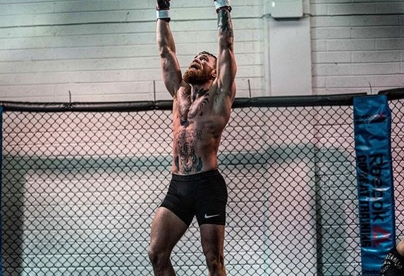 Mcgregor posts a training montage, leading up to the Khabib fight