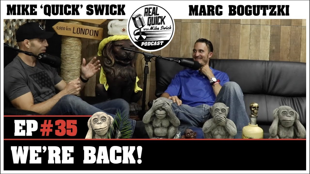 You thought they were gone? Nope! The RQMS Podcast is back w / EP 35.