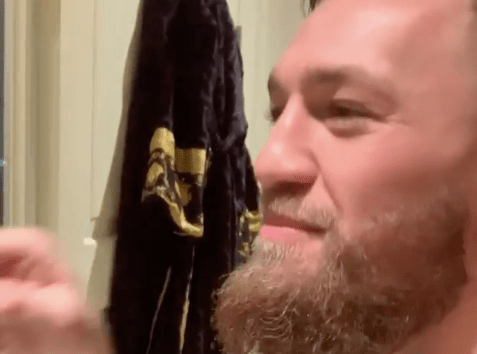 Something's wrong with Conor McGregor, although his mirror doesn't agree