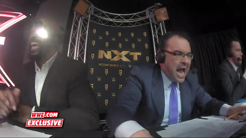 Mauro Ranallo at it again. Slaying the mic while calling NXT match