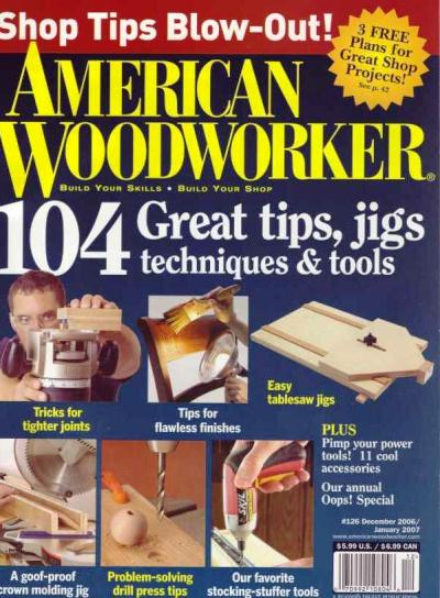 American Woodworker Magazine Back Issues