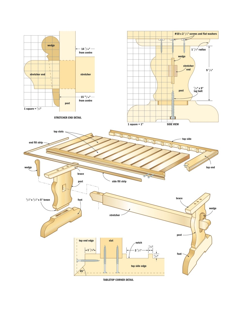 medium resolution of 5 dining table plans for woodworking enthusiasts to try water table diagram dining table diagram