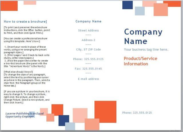 Company Brochure Template 05