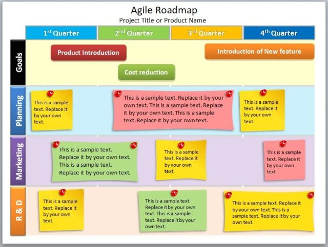 Product Roadmap Template 09