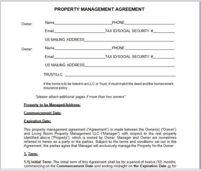 Property Management Agreement 02