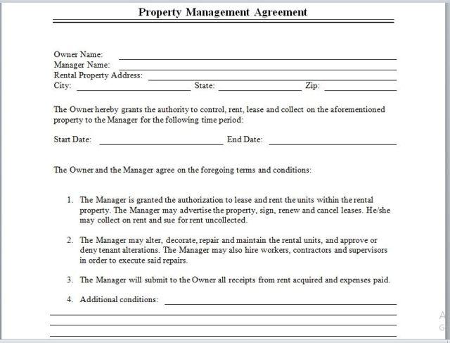 Property Management Agreement 16