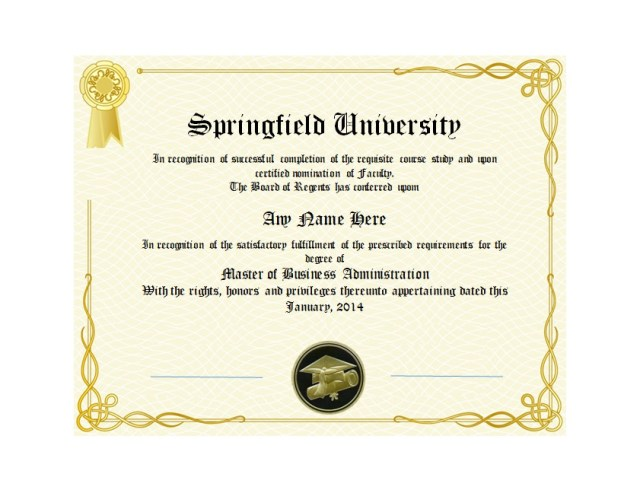 Diploma Certificate Template 04