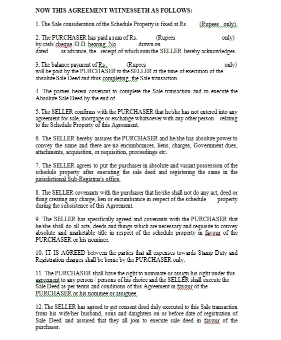 Vehicle Purchase Agreement Template 18