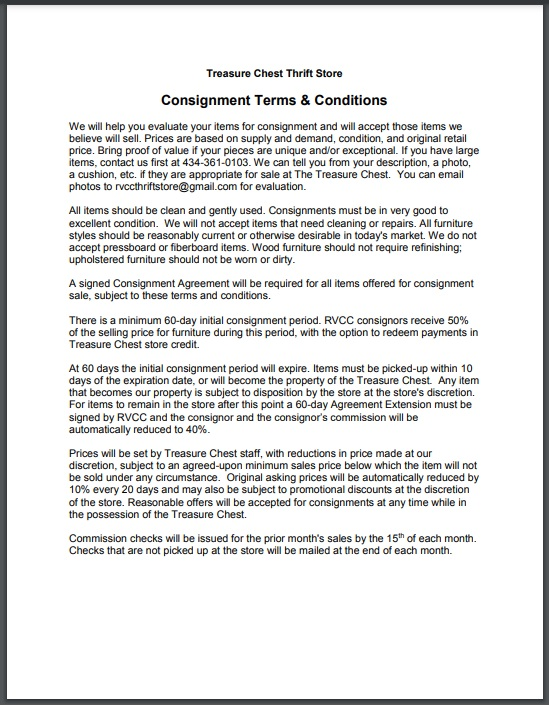 Consignment agreement template 18