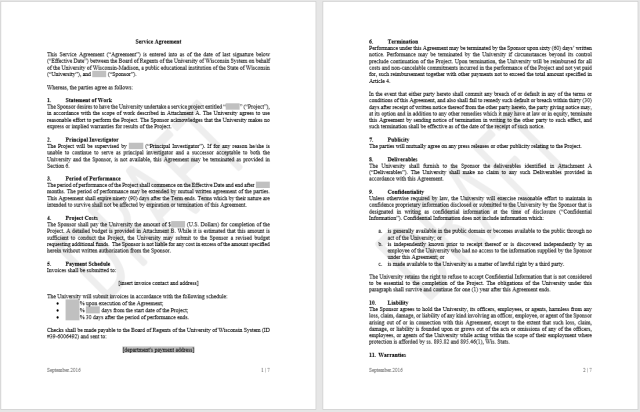 Consultancy Agreement Template 18..