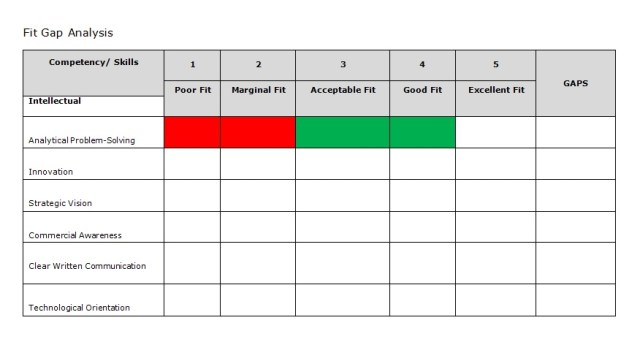 GAP Analysis Template 04