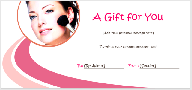 Gift Certificate Template 08