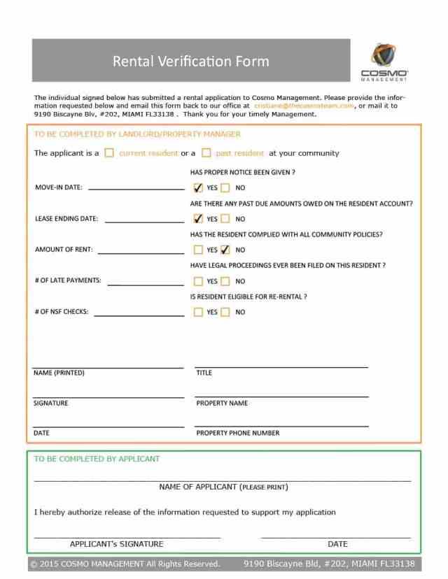 rental verification form 05