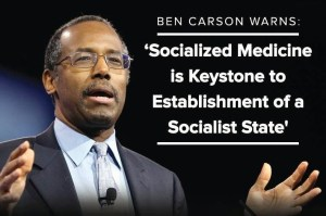 Is Dr. Carson (Professor Emeritus, John Hopkins) right?