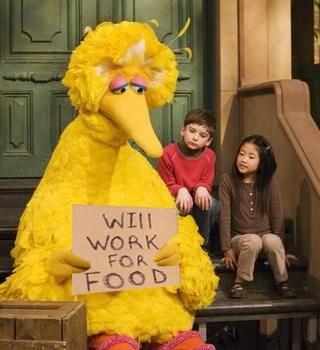 Friday Happy Hour: Big Bird