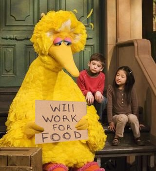 Friday Happy Hour: Big Bird