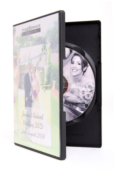 wedding dvd case image