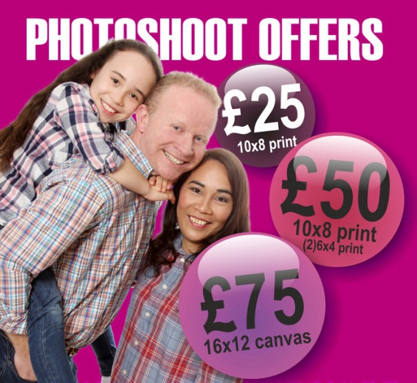 Mike Turner photography special photoshoot offers
