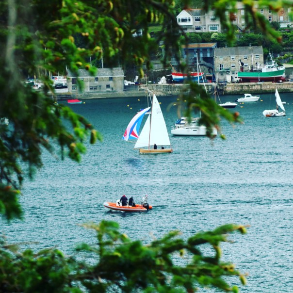 photos of fowey cornwall by Mike Turner photography