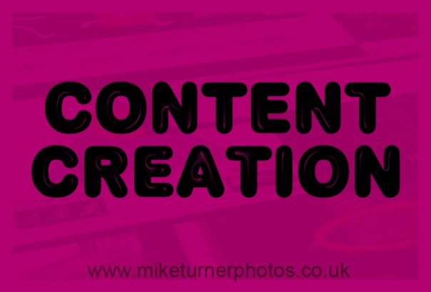 content creation at Mike Turner Photography