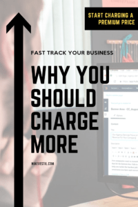 Find out the reasons why you should charge more than your competition.