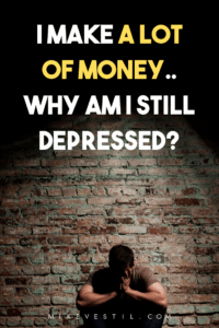 Are you still feeling depressed even if you're already making enough money? Find out in today's  article/vlog how Mike Vestil tackles the solution to getting rid of depression!