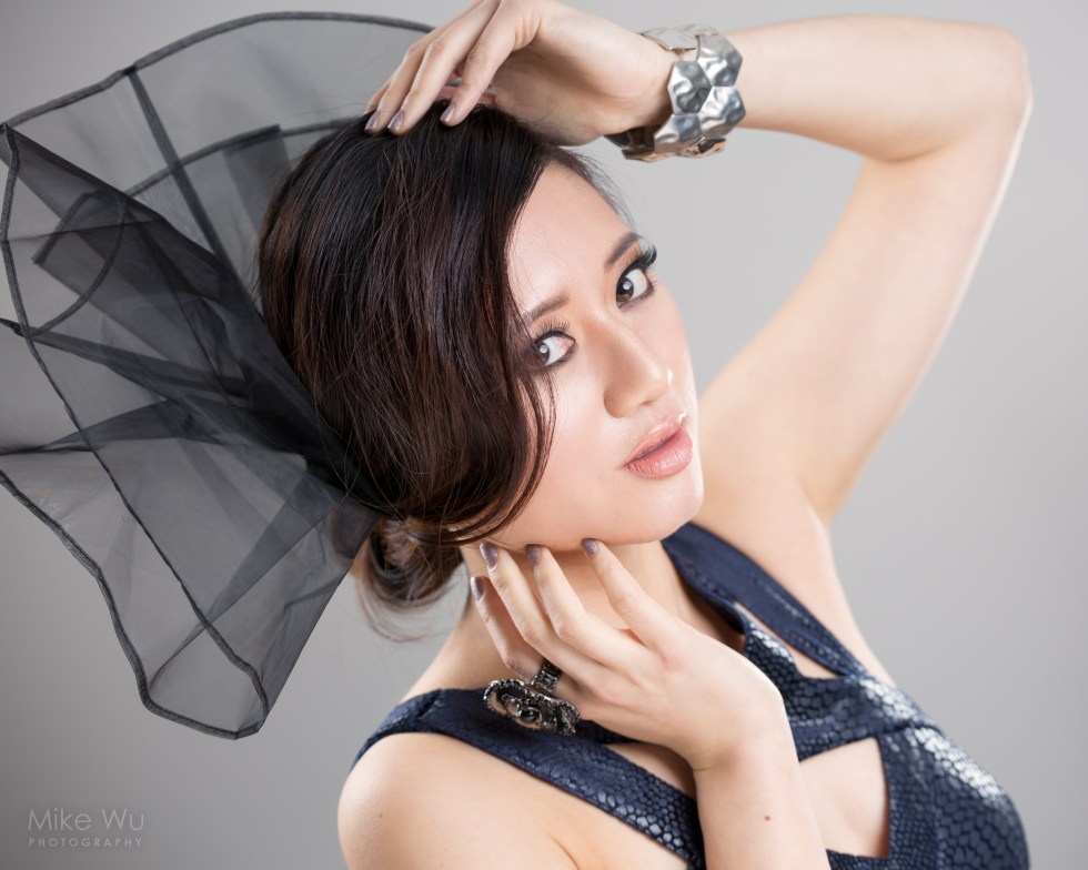 Beauty portrait with model Christine