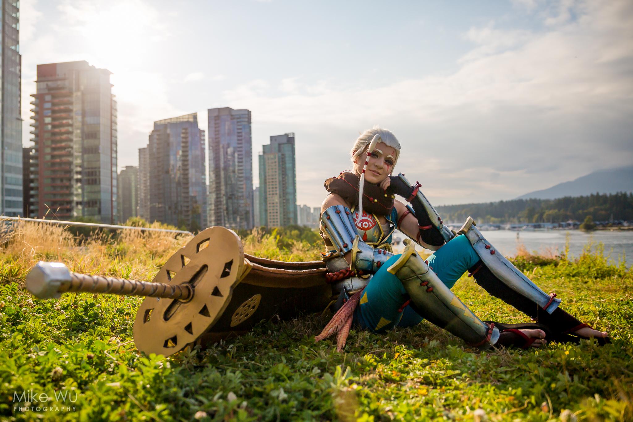cosplay, Impa, legend of zelda, sword
