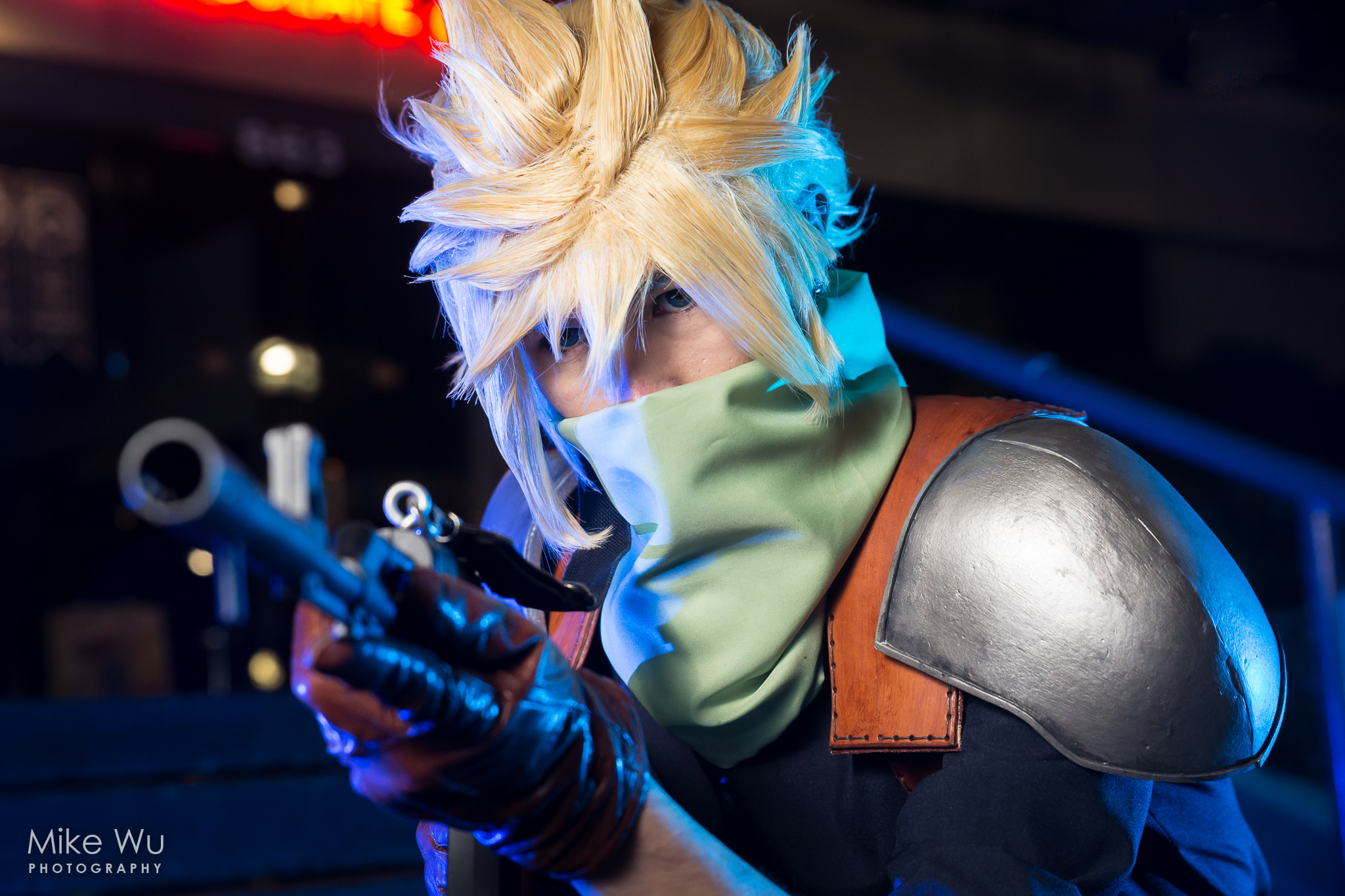 cosplay, cloud, keneko, final fantasy, game, action, real-time, gun, adventure, character, chocobo