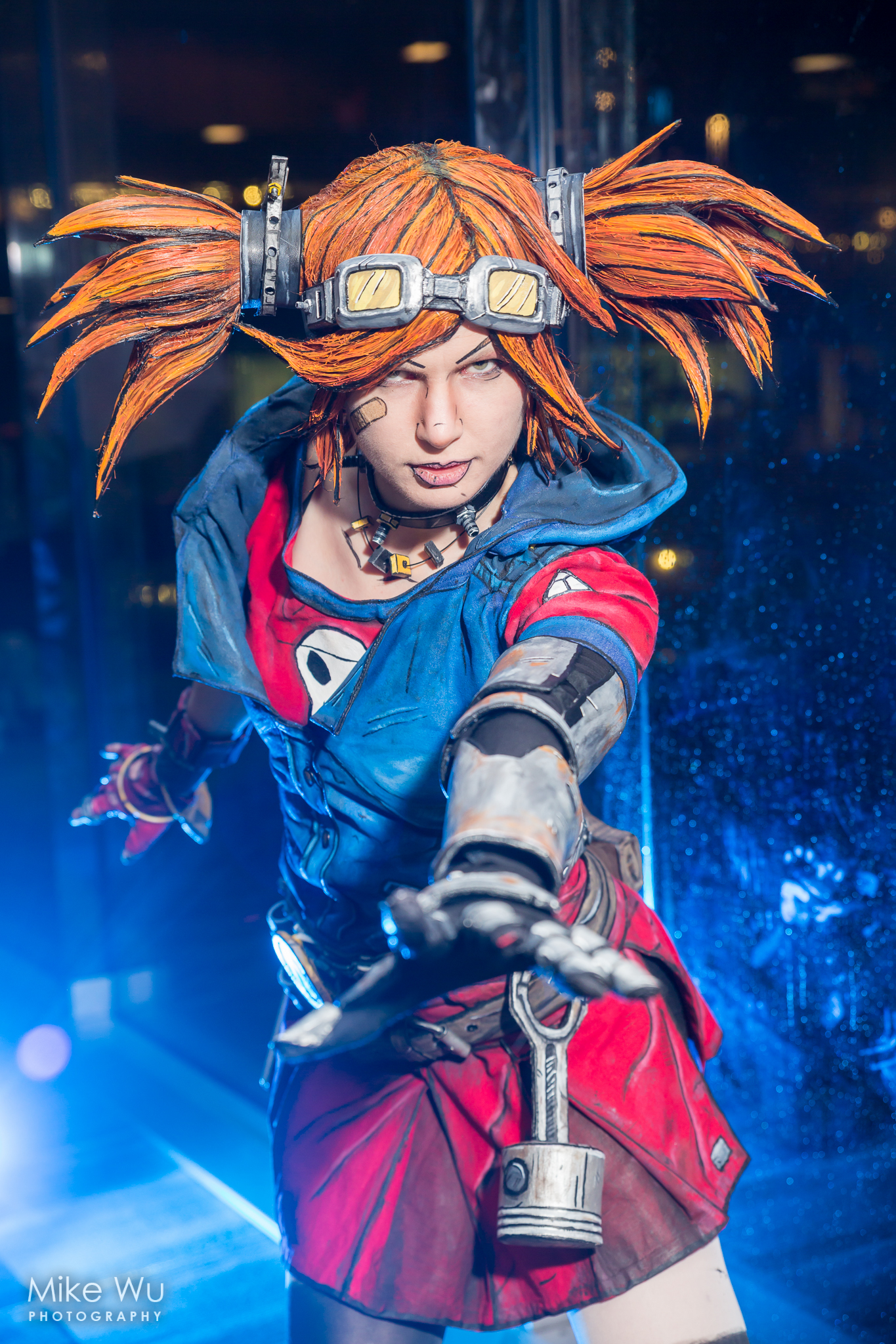 cosplay, Gaige, Mechromancer, class, Borderlands 2, character, game