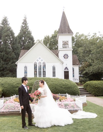 church, chapel, minoru park, vancouver, asian, richmond, wedding, couple, married, happy, garden, beautiful, special day