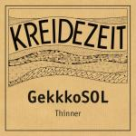 Kreidezeit GekkkoSOL Thinner label