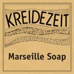 Kreidezeit Marseille Soap label