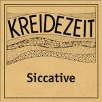 Kreidezeit Siccative label