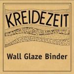 Kreidezeit Wall Glaze Binder label