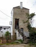 North Devon Stone house repointed in lime putty mortar