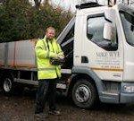 12 tonne crane lorry 5,800kg capacity (6 x pallets)