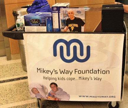Mikey's Way Day Connection Cart of Electronics